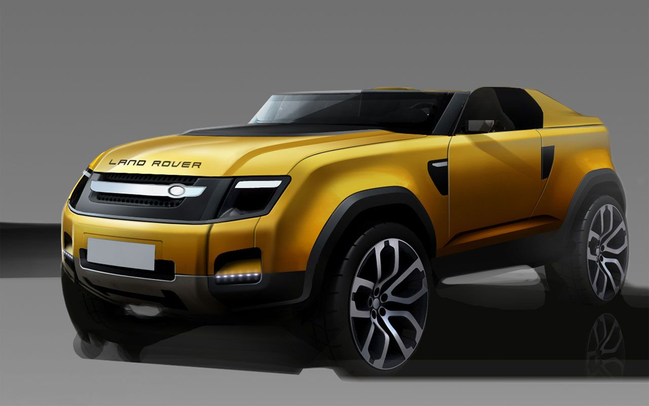 Land Rover Dc 100 Sport Concept Design Sketch Car Design