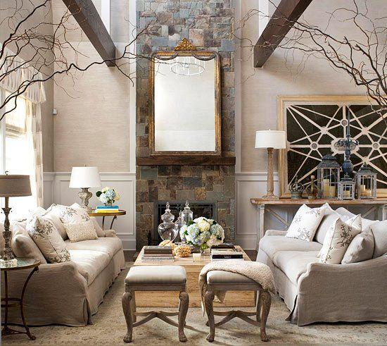 Kirby Large Sofa: 2011 Hampton Designer Showhouse: First Floor