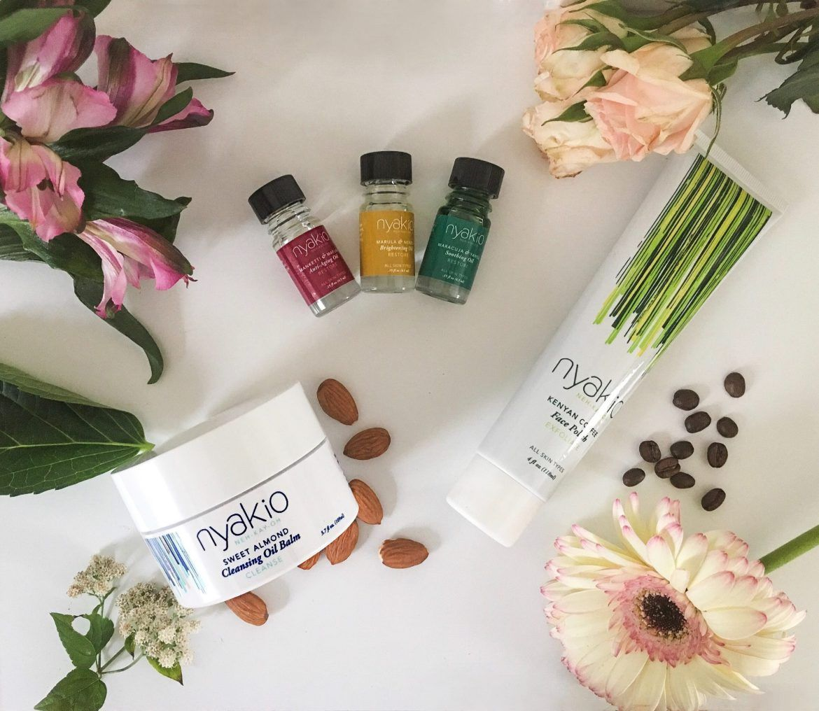 nyakio review soothe and heal sweet almond cleanser