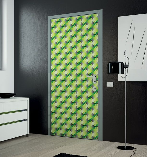 Contemporary and Modern Door Prints Decorating Ideas Abstract green yellow & Neon green | Green | Pinterest | Karim rashid Luxury furniture and ...