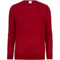 Photo of Olymp Level Five knit sweater, body fit, brick red, Xxl Olymp