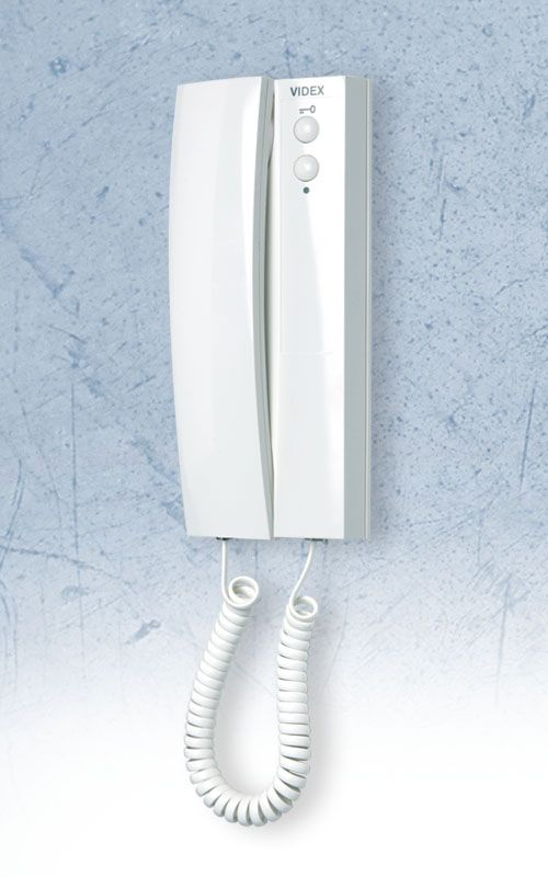 Videx 3000 Series Handset With Two Buttons Door Open And Service The Latter Can Be Programmed To A Gate Or Turn On Lights 3171 Is An