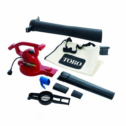 Santas Tools And Toys Workshop Lawn Patio Toro 51609 Ultra 12 Amp Variable Speed Up To 235 Electric B Electric Leaf Blowers Blowers Best Vacuum