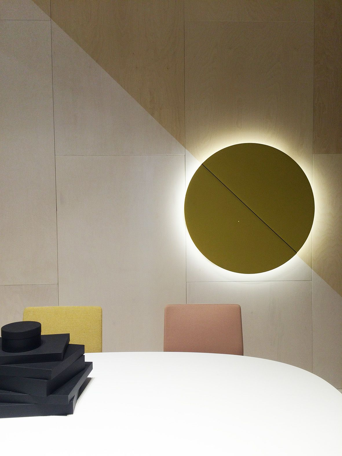 wall Milano Arper Salone del panel Mobile 2015 Parentesit 80NymnwvO