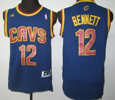 Cleveland Cavaliers #12 Anthony Bennett Revolution 30 Swingman Red Jersey