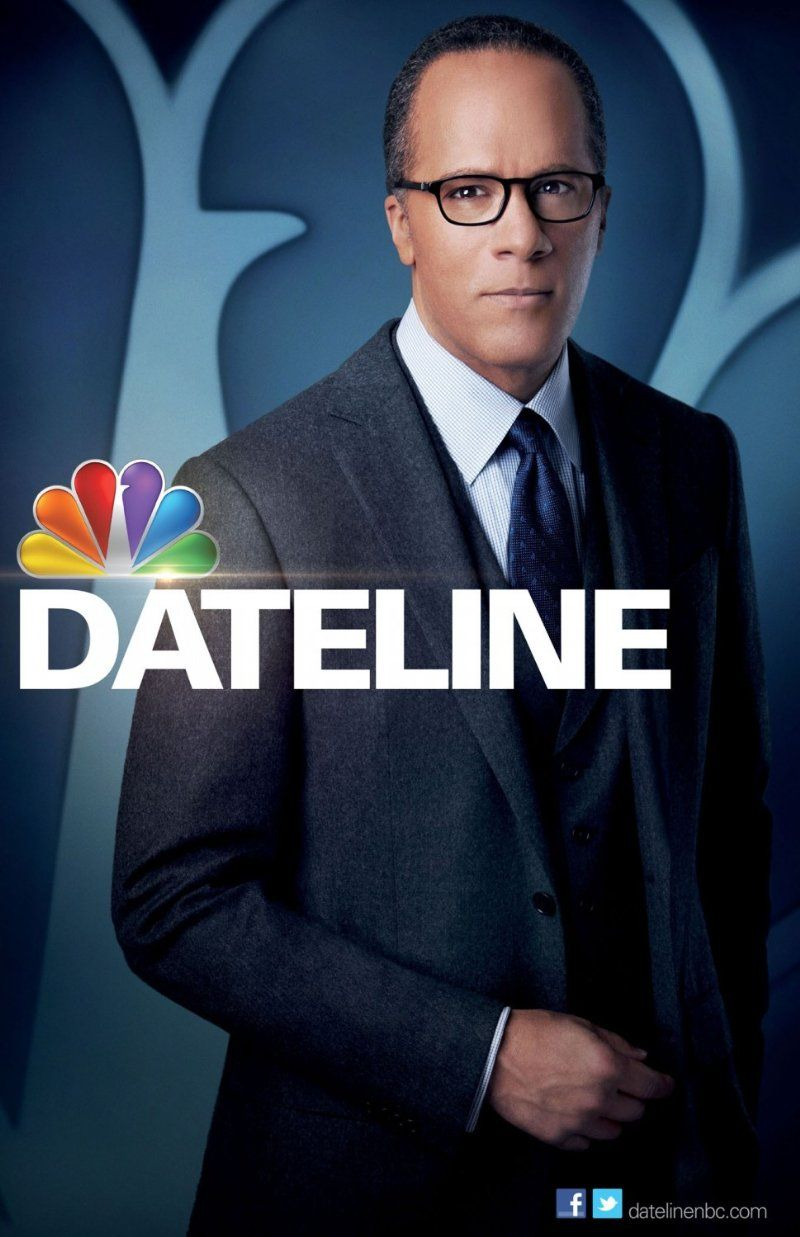 Dateline NBCLester Holt Nbc tv, Watch tv shows, Tv