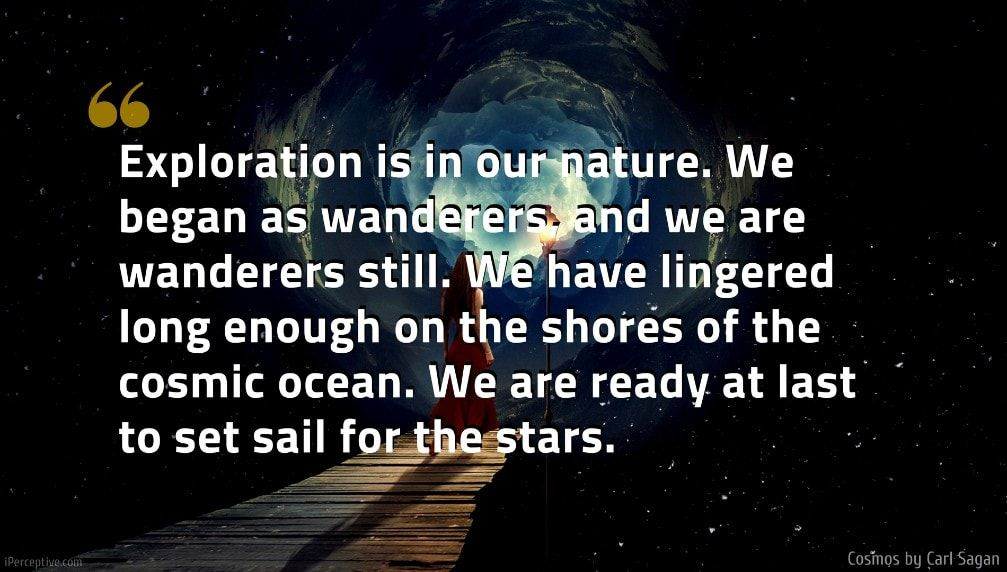 Cosmos by Carl Sagan (Quotes and Excerpts)