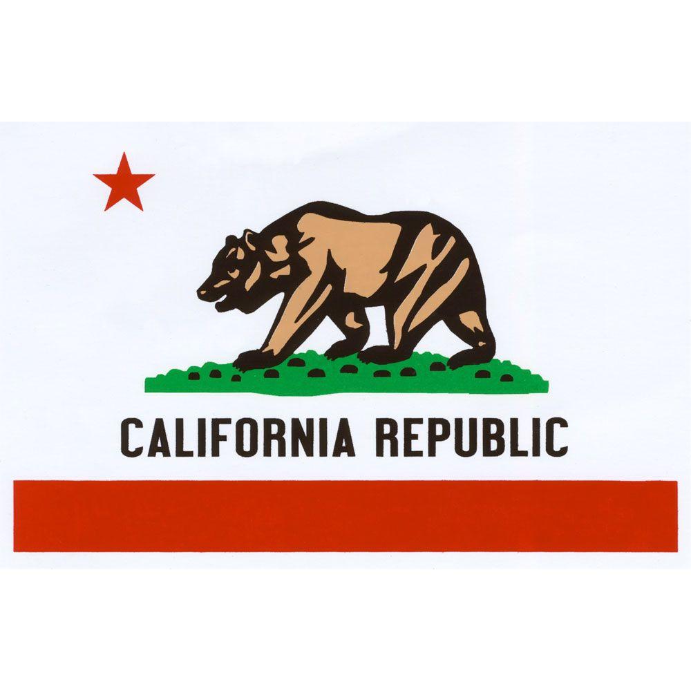 Quagmire California Flag Small Sticker Whtco Caflag Small California Flag California State Flag California Gifts [ 1000 x 1000 Pixel ]