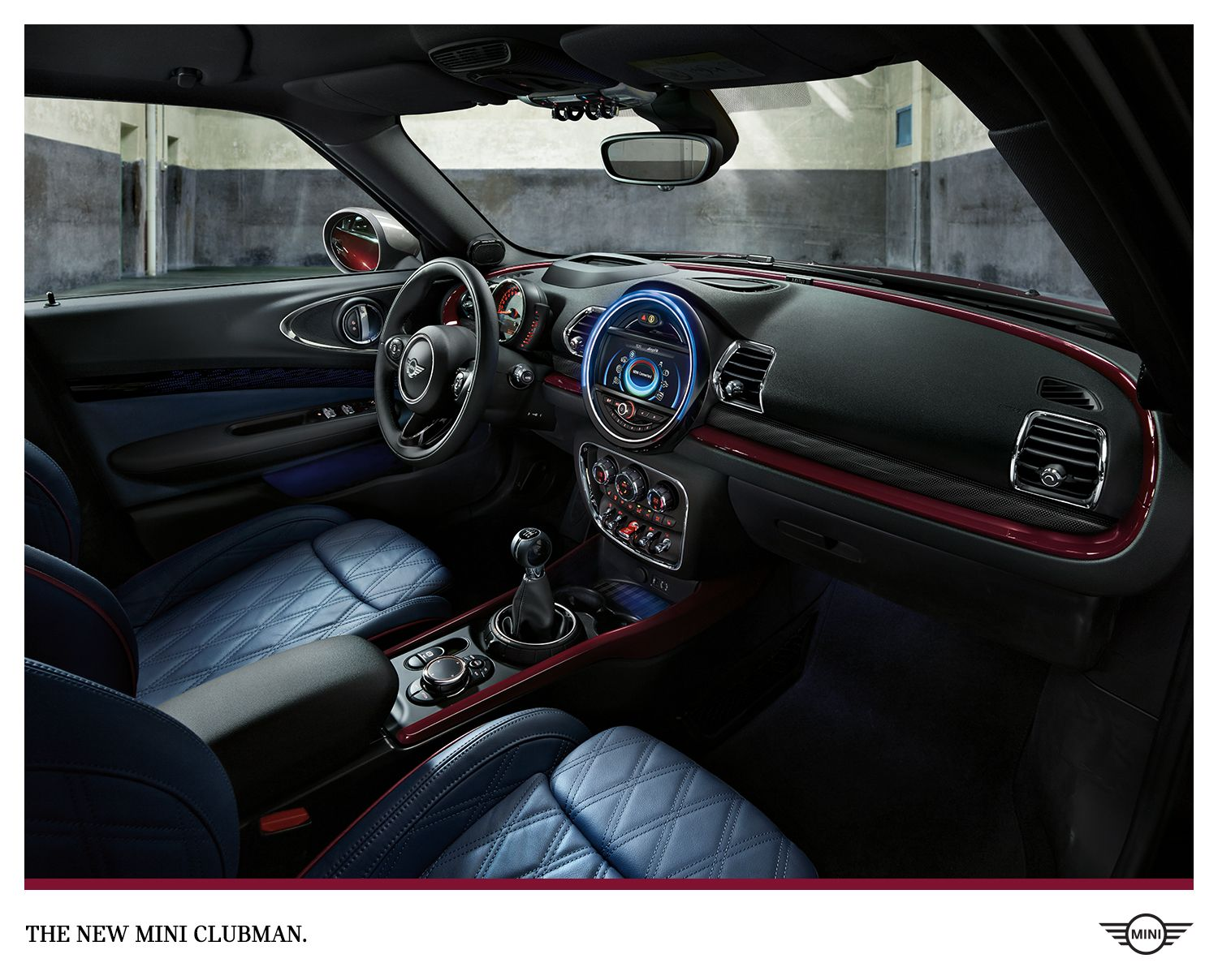 The Mini Clubman S Redesigned Interior Features Five New High End Upholstery Options