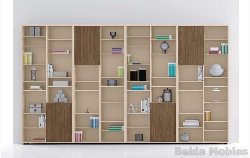 Librer a moderna 2 muebles belda kazzano en muebles belda muebles moderno y librerias - Muebles belda ...