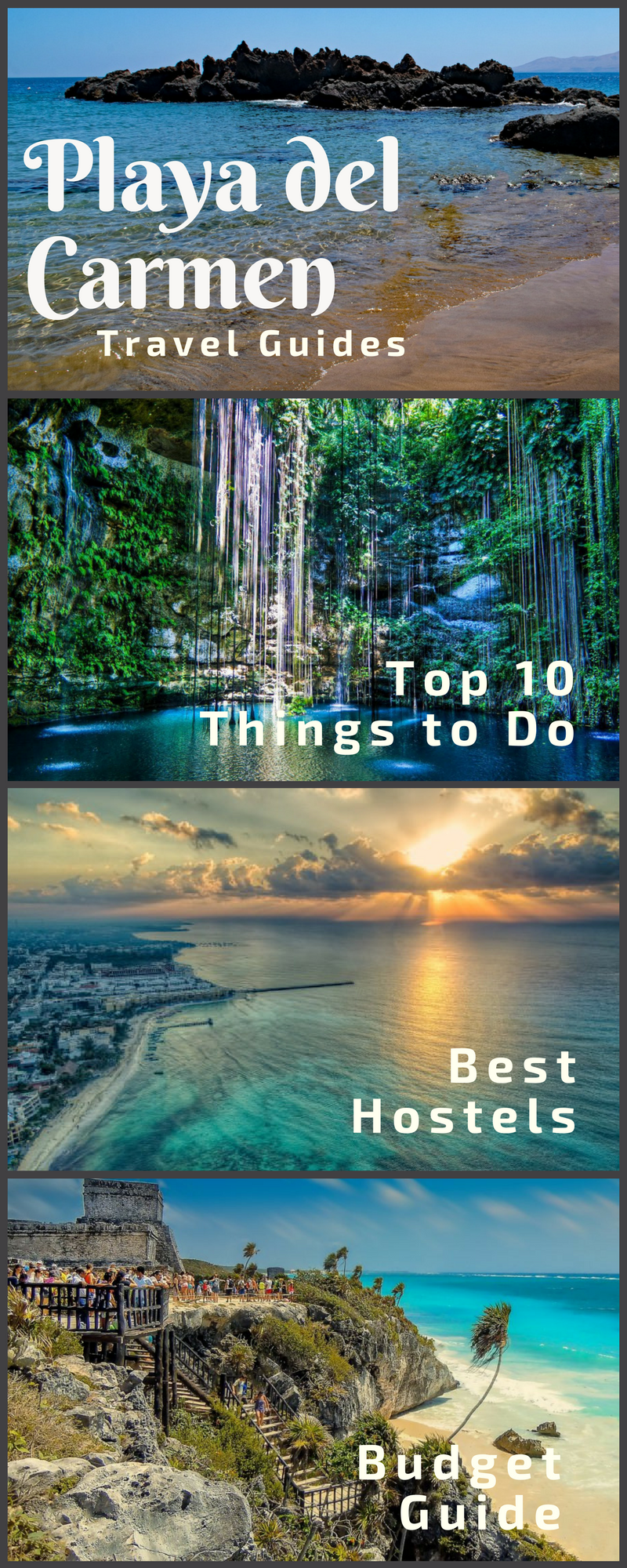 Playa del Carmen Travel Guide Four great articles with all the tips you need to travel to Playa del Carmen Mexico!