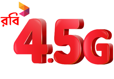 Robi 4G Internet Packages also are known as ROBI 4 5G internet  Robi