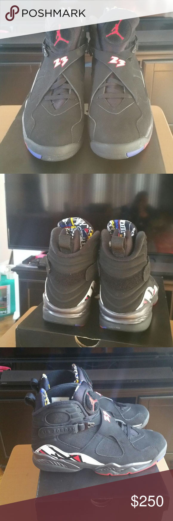 Brand New Jordan's 8's Retro Brand New in the Box - Brand New Jordan's 8's Retro. PRICE IS FIRM UNLESS BUNDLED. Jordan Shoes Sneakers