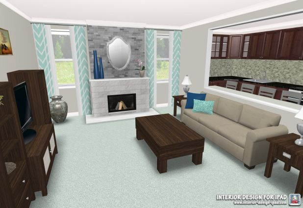 Check Out This Beautiful Livingroom Design Done With The