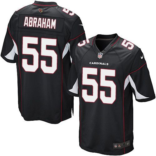 Limited John Abraham Youth Jersey - Arizona Cardinals 55 Alternate Black Nike NFL