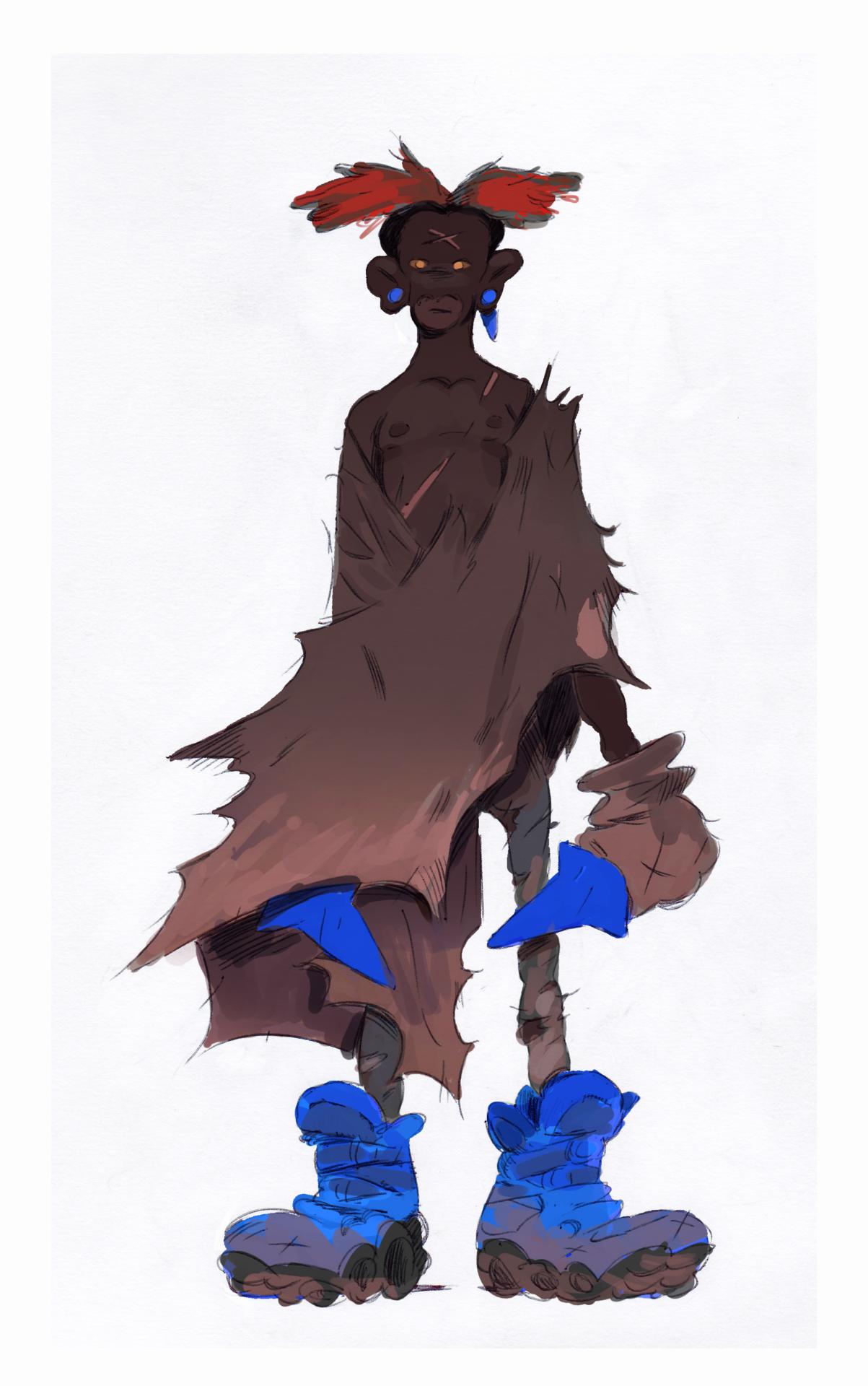 random character in 2020 Character, Character design, 2d art