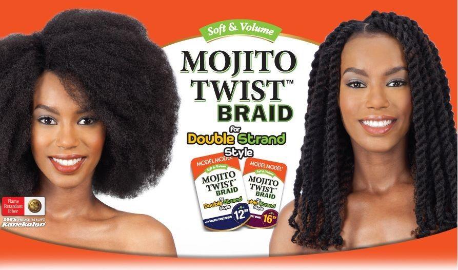 Model Model MOJITO TWIST BRAID 12/16/24 Inch Twist