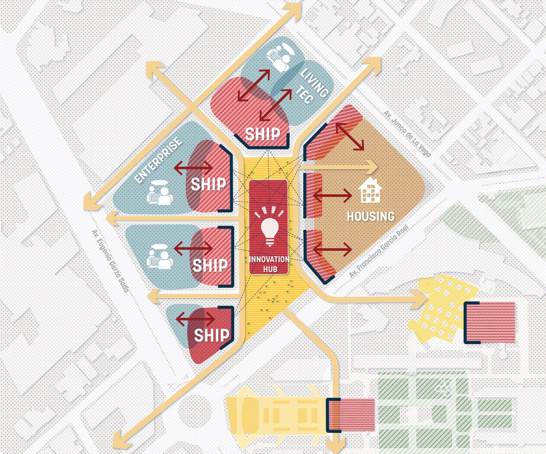 Tecnológico de Monterrey Urban Regeneration Plan – Sasaki