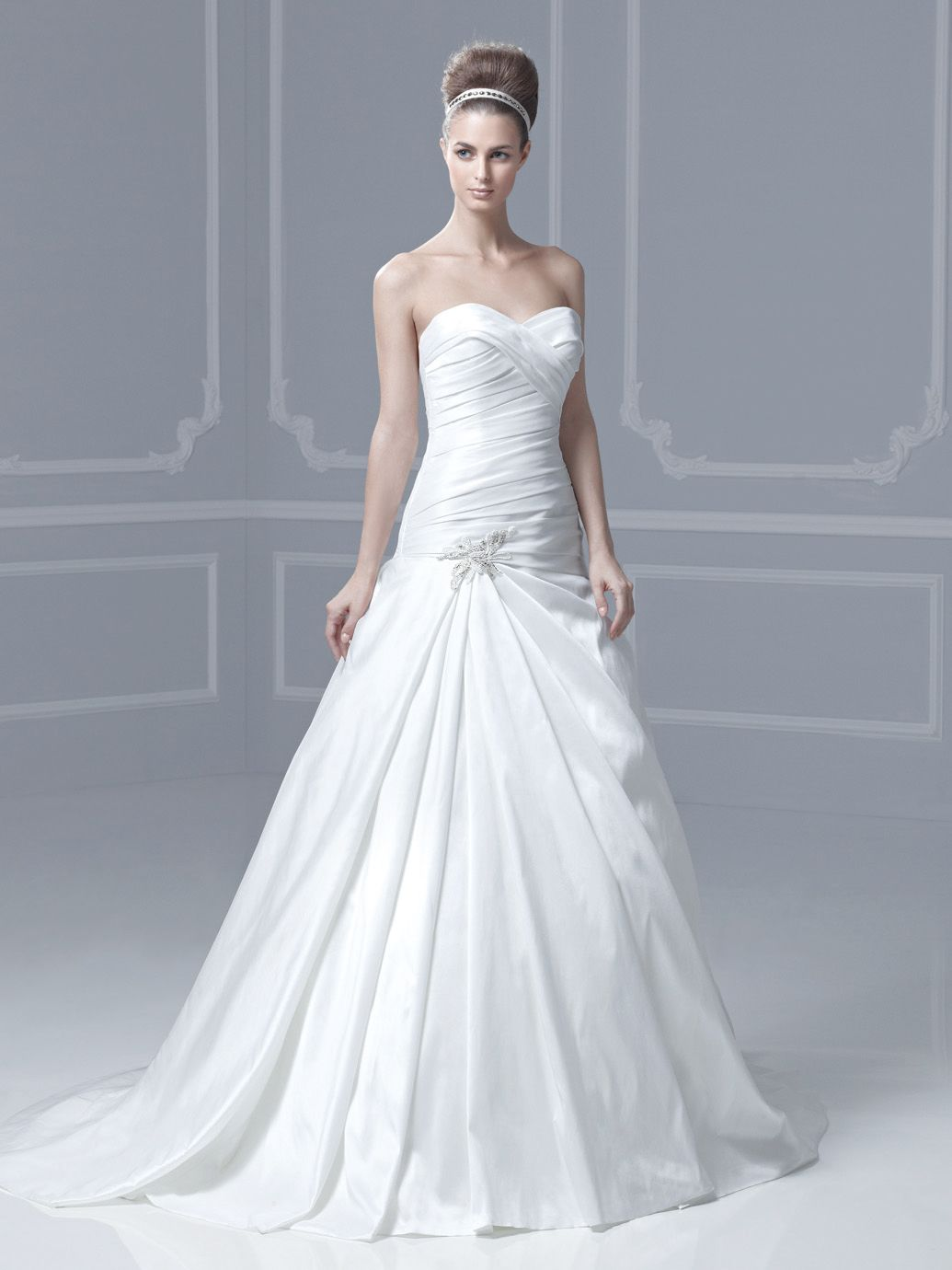 Blue Fassberg Front (This has a neat train)   Wedding Dresses - Blue ...
