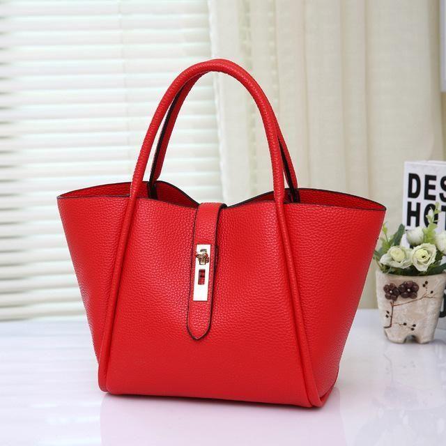 Printed Women Handbags PU Leather Hasp Tote Purse Large Capacity Vintage  Ladies Shoulder Bag Set Leopard a0726c1da8094