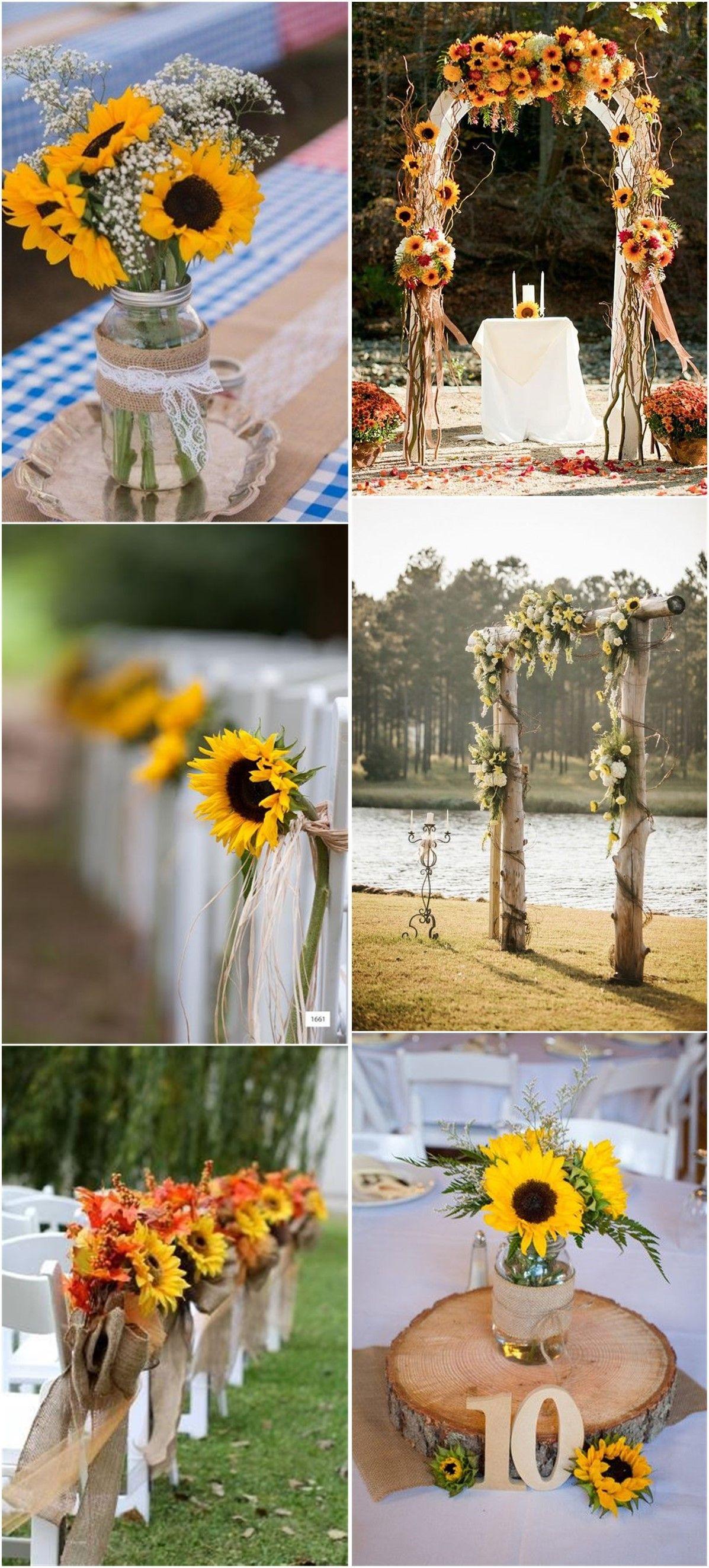 Rustic weddings 23 bright sunflower wedding decoration ideas for rustic weddings 23 bright sunflower wedding decoration ideas for your rustic wedding junglespirit Gallery