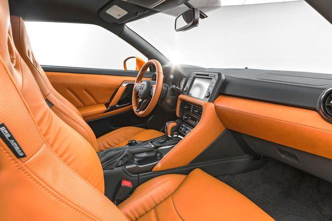 2017 Nissan Gt R Interior Camel Brown Black Orange