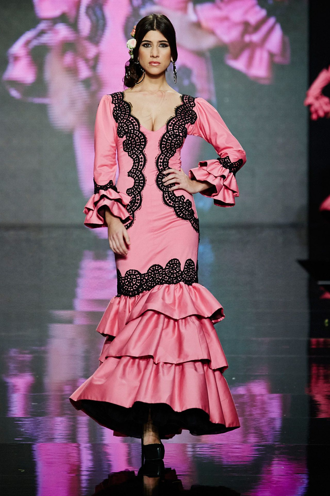 Pin de Andrea Martínez en Traje Flamenca mujer | Pinterest ...