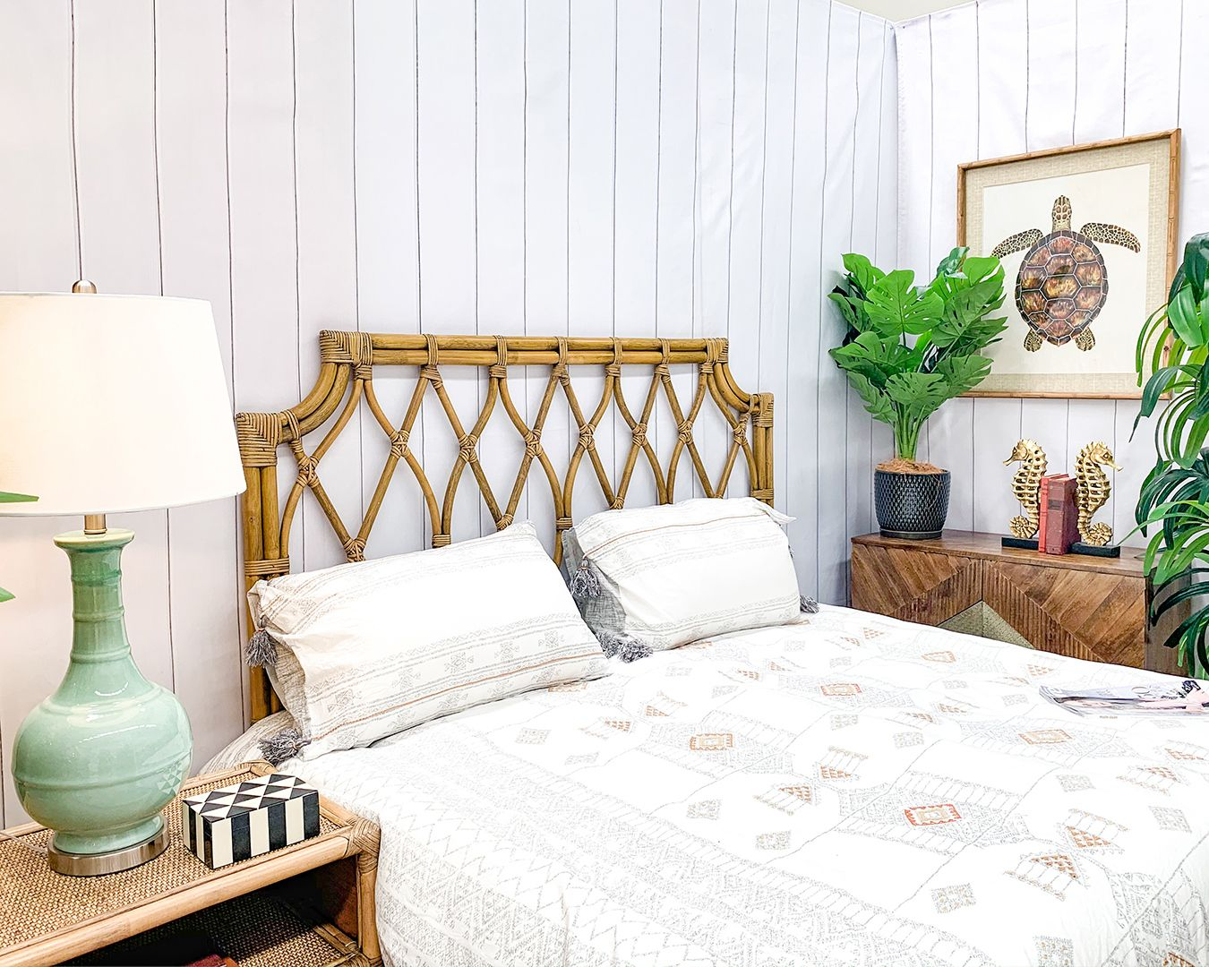 Natural Rattan Bedhead In 2020 Home Decor Furniture Decor Online