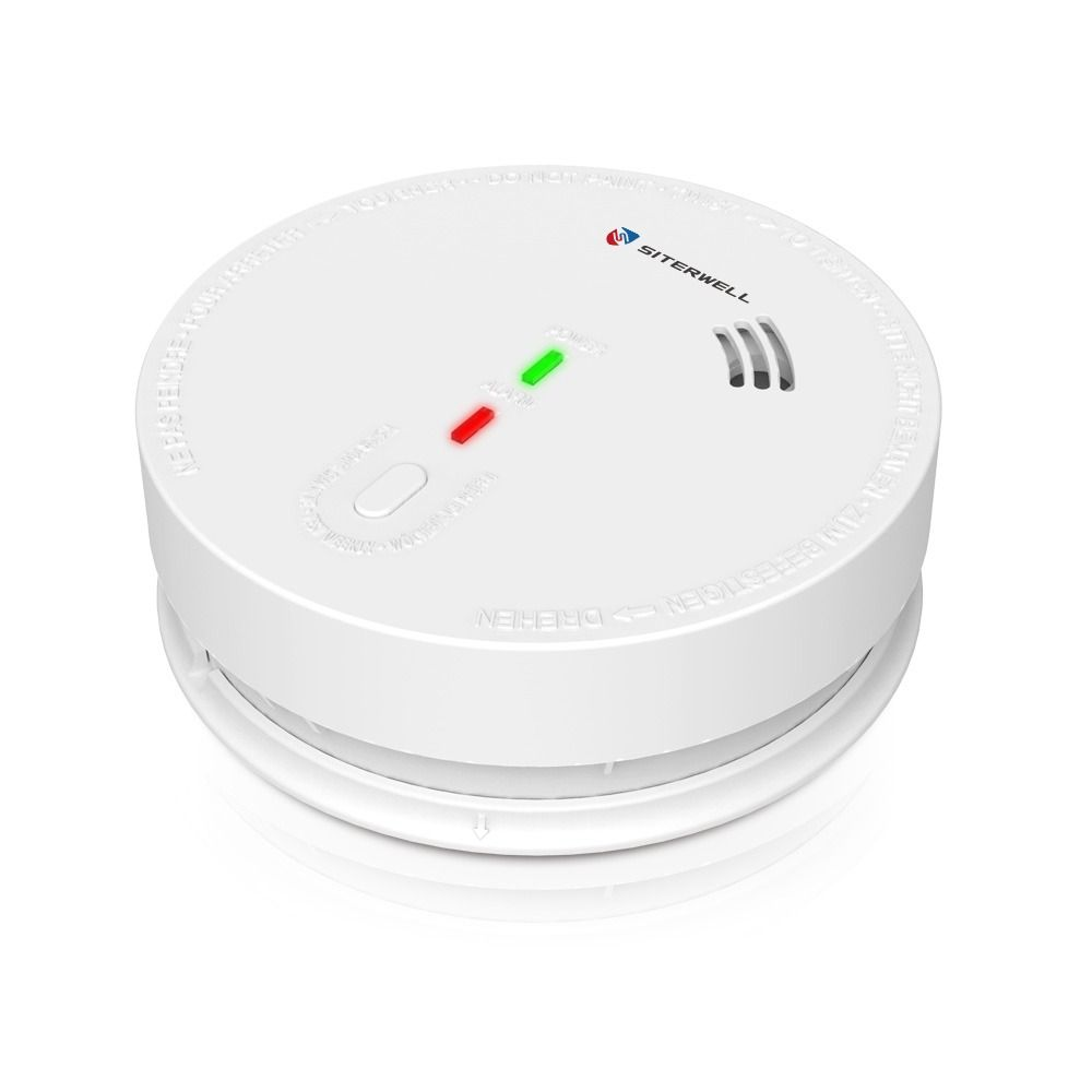 Siterwell Ul 217 Gs517 Gs518 Hardwire Connected With Dc 9v Battery Backup Smoke Alarm Smoke Alarms Fire Alarm Ac Wiring