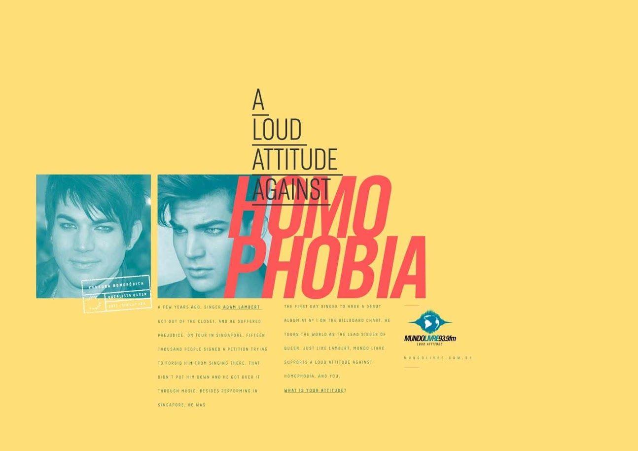 Mundo Livre FM: Adam Lambert - homophobia