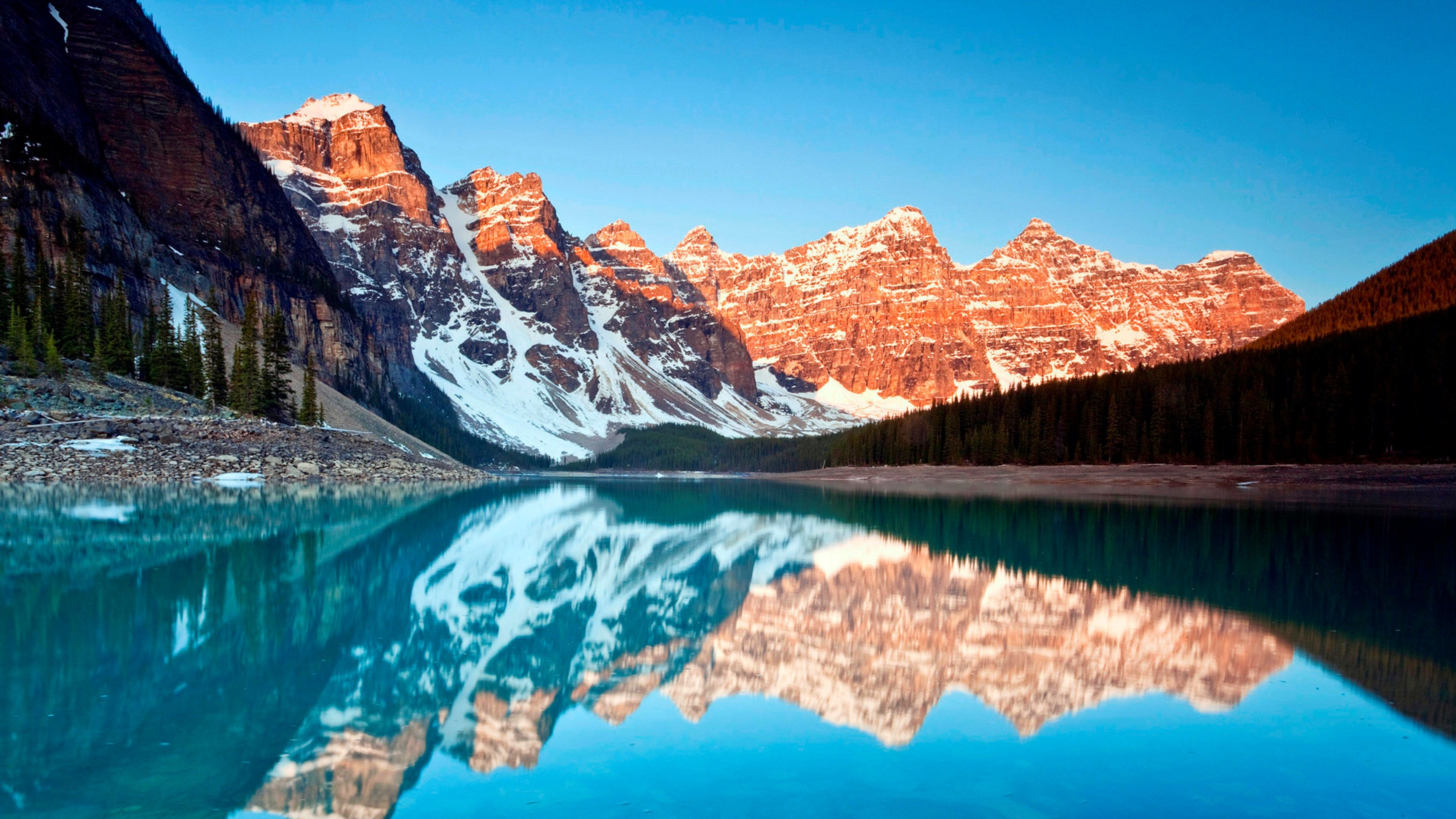 Reflection 4k Wallpaper 3840x2160 Fond Ecran Windows Fond Ecran Nature Fond D Ecran Telephone