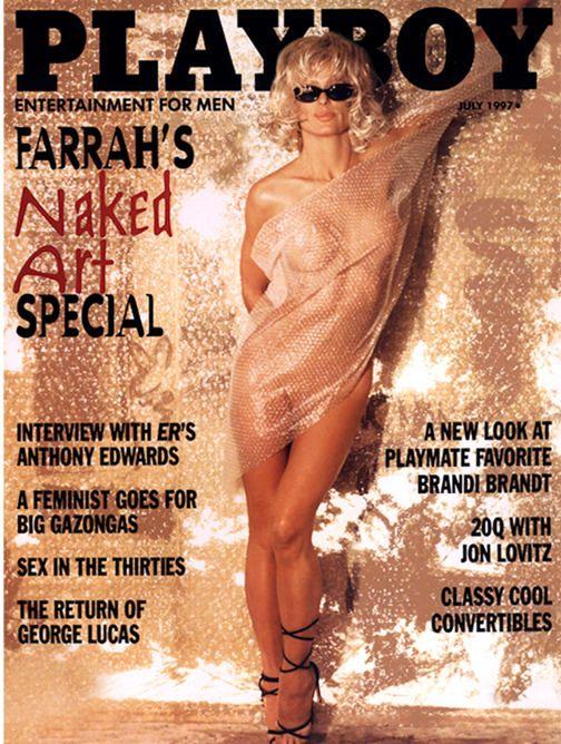 Pictures of naked farrah fawcett