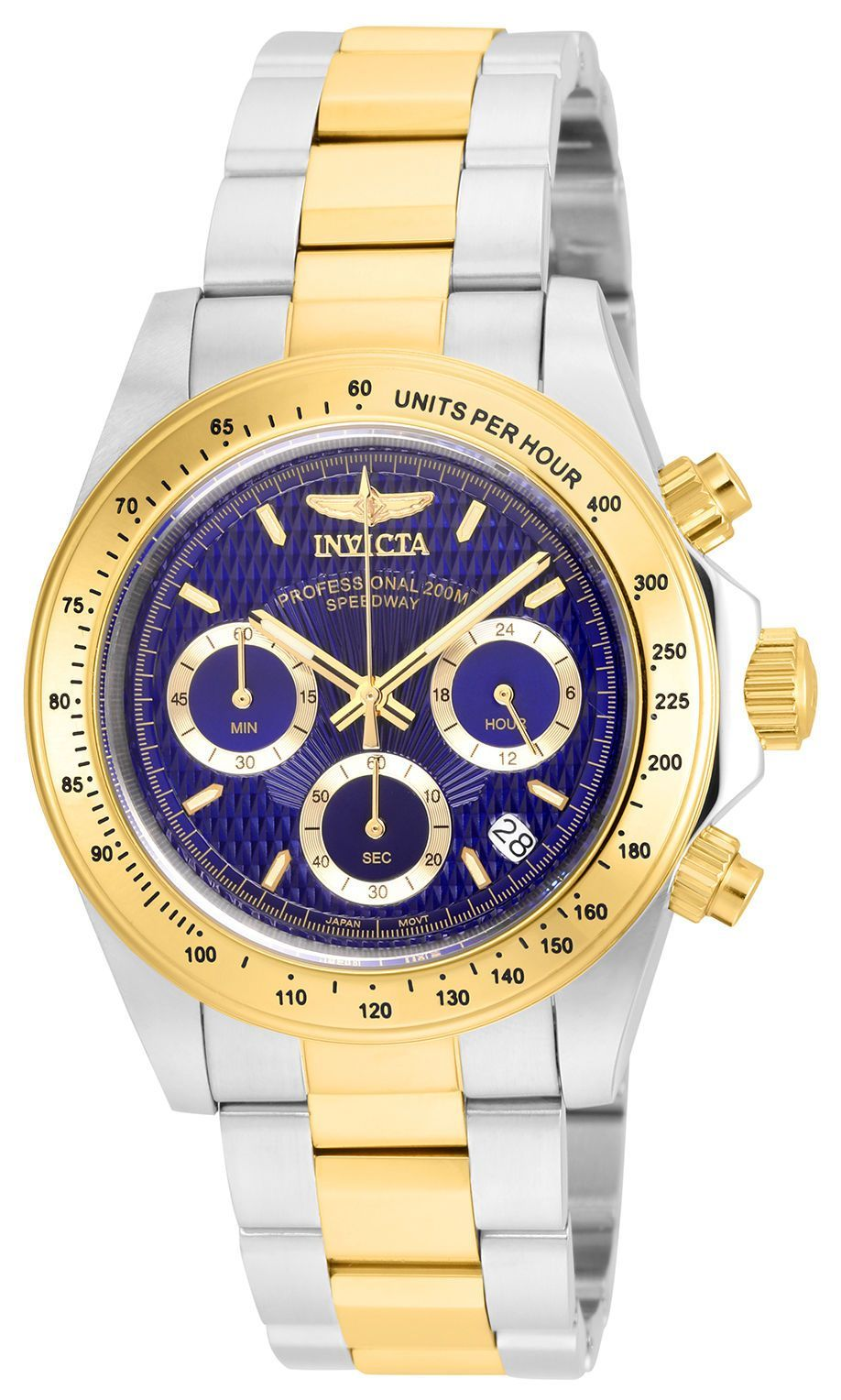 9f86ee78648 Relogios · Invicta Mens 7115 Signature Blue Dial Sport Stainless Steel Watch