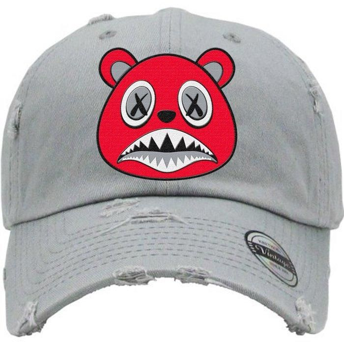 394dd1e20d4 Angry Baws Light Grey Dad Hat - Jordan 11 Win Like 96