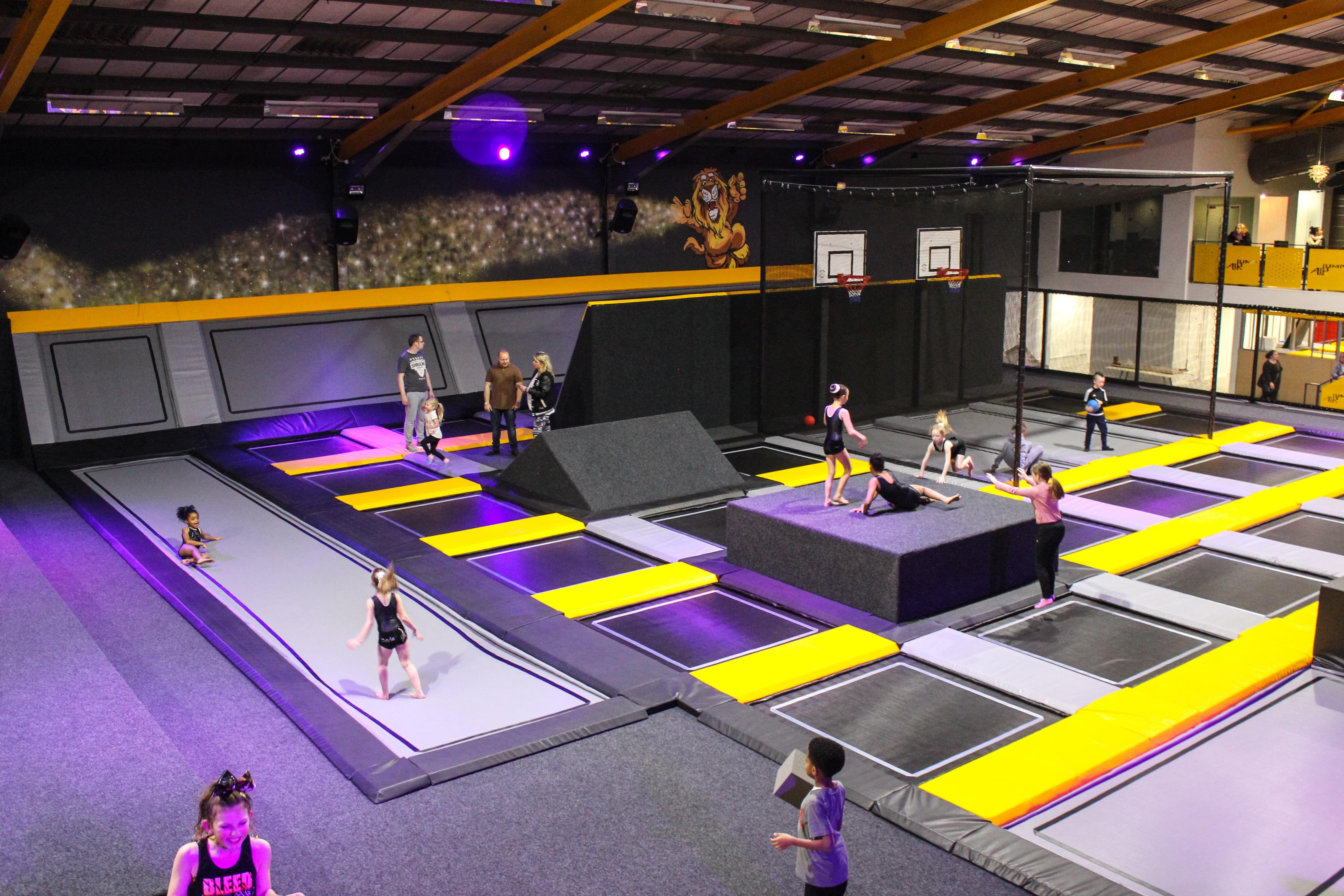 AirJump (Open Jump) Air Jump Trampoline Park