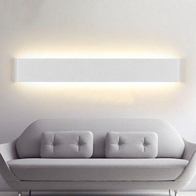 ELINKUME 14W Aluminium Acryl Moderne LED-Wandleuchte 85-265V Up Down