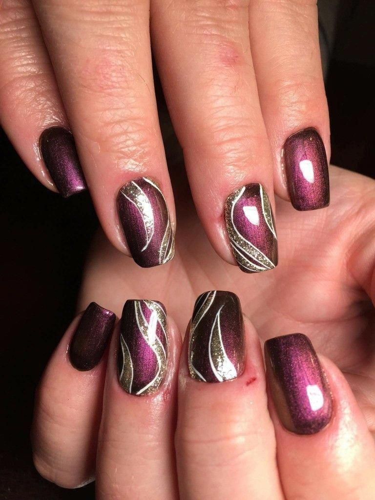 Simple Fall Nail Art Designs You Need To Try 30