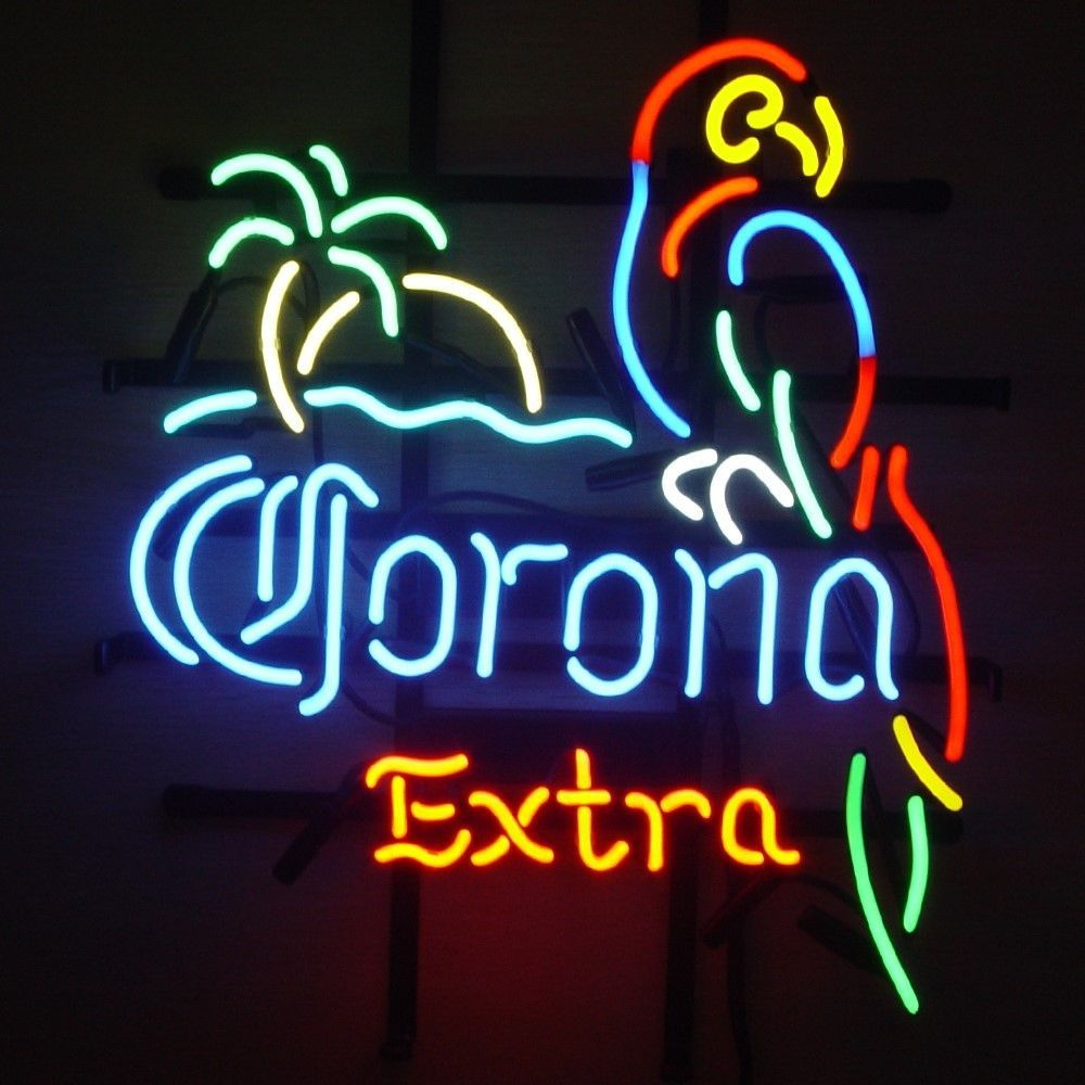 New corona extra parrot palm tree logo beer bar pub neon light sign new corona extra parrot palm tree logo beer bar pub neon light sign 19x15 aloadofball Gallery