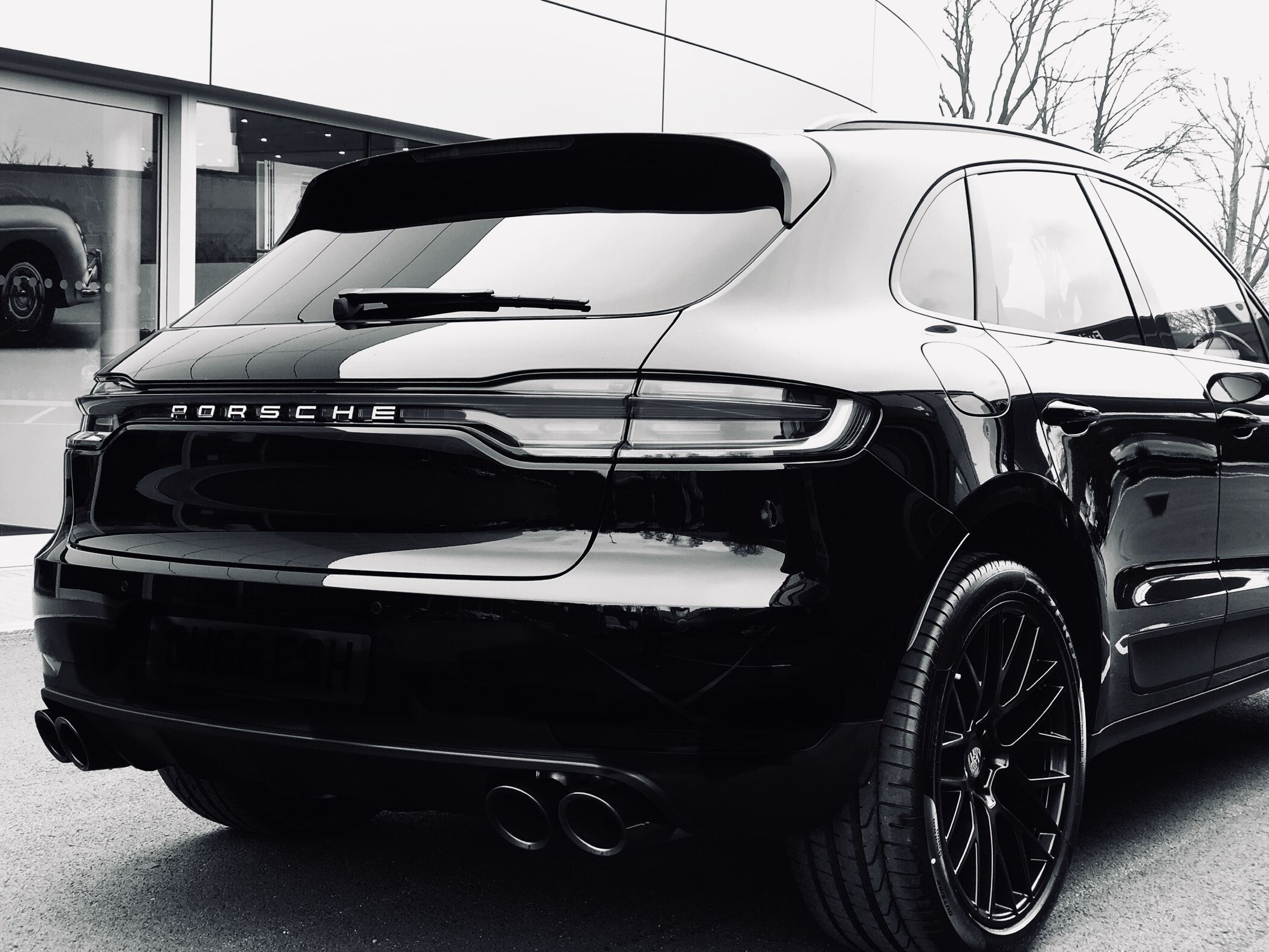 Idea by Matt Johnson on Rides Black porsche, Porsche