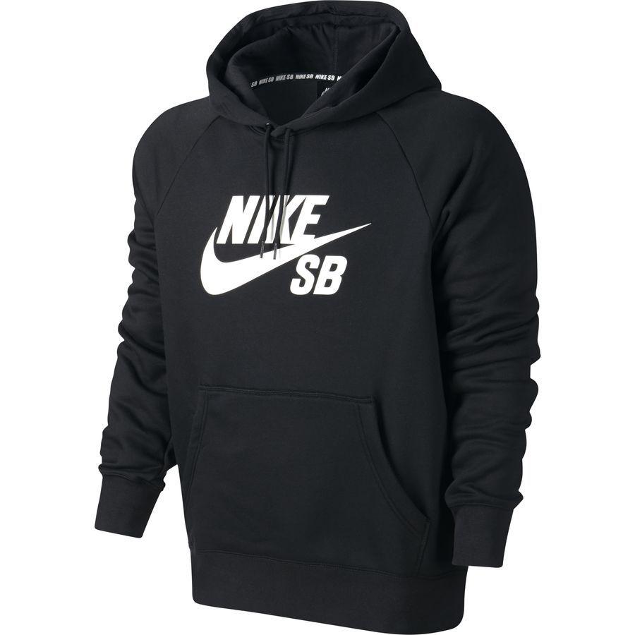 Predownload: Nike Sb Icon Pullover Hoodie Men S Black White Nike Clothes Mens Hoodies Hoodies Men Pullover [ 900 x 900 Pixel ]