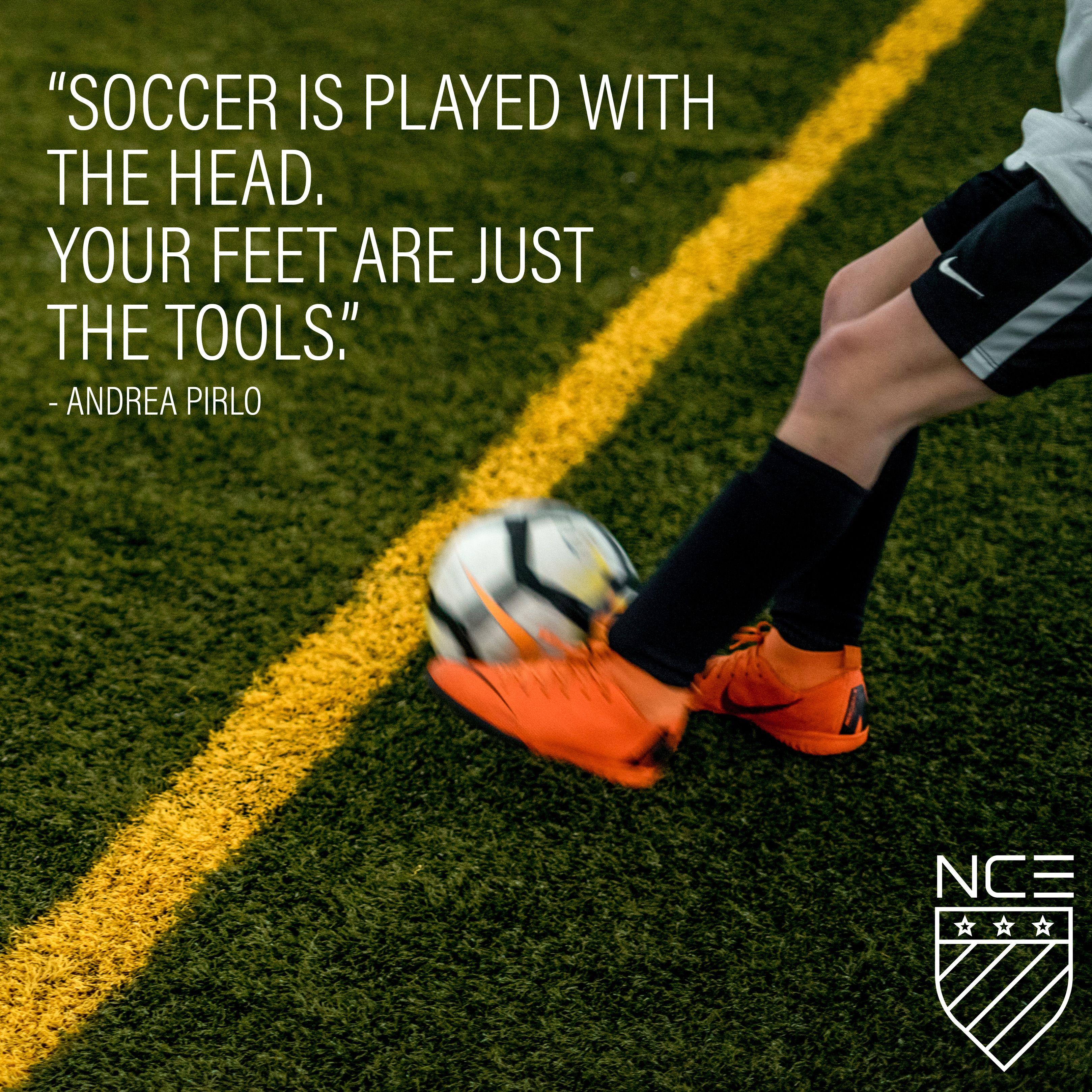 Andrea Pirlo Quote Nce Soccer Andrea Pirlo Pirlo Quotes Soccer