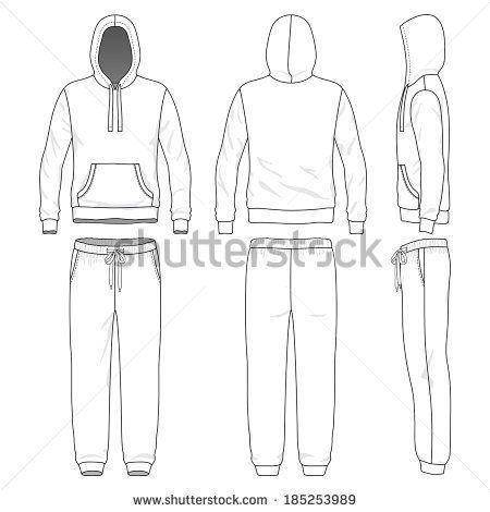 Sweatpants Front Back Side Blank Men S Sweat Suit In Front Back