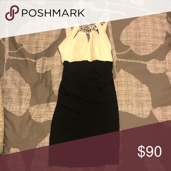 Black & White Semi-Formal Dress Perfect dress for semi-formal events! Jodi Kristopher Dresses Mini