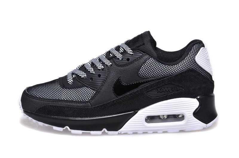 competitive price 9ecd8 ed42f 1767   Nike Air Max 90 Dam Svart Vit SE383105ntDZcsznf