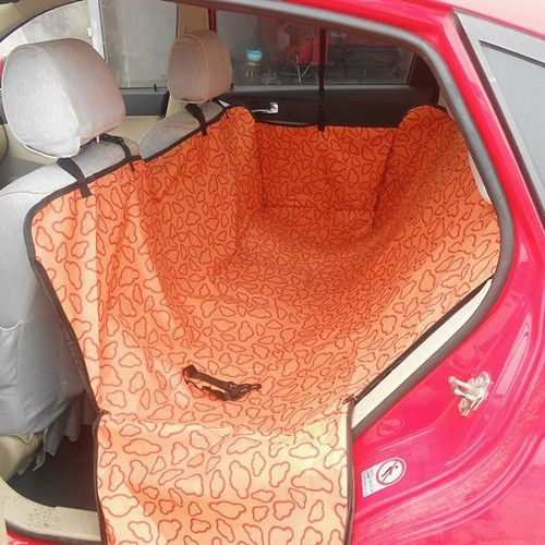 Pet Dog Cat Car Rear Back Seat Carrier Cover Pet Dog Mat Blanket Cover Mat Hammock Cushion Protector 3 Colors