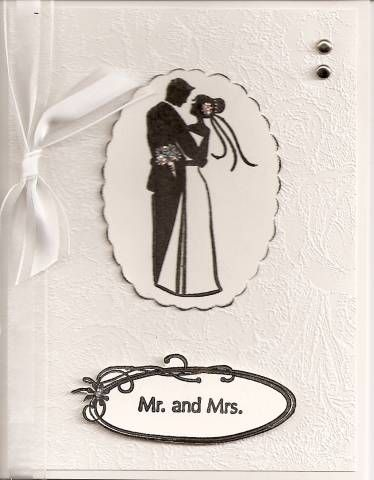 Inkadinkado Wedding Dress Stamp