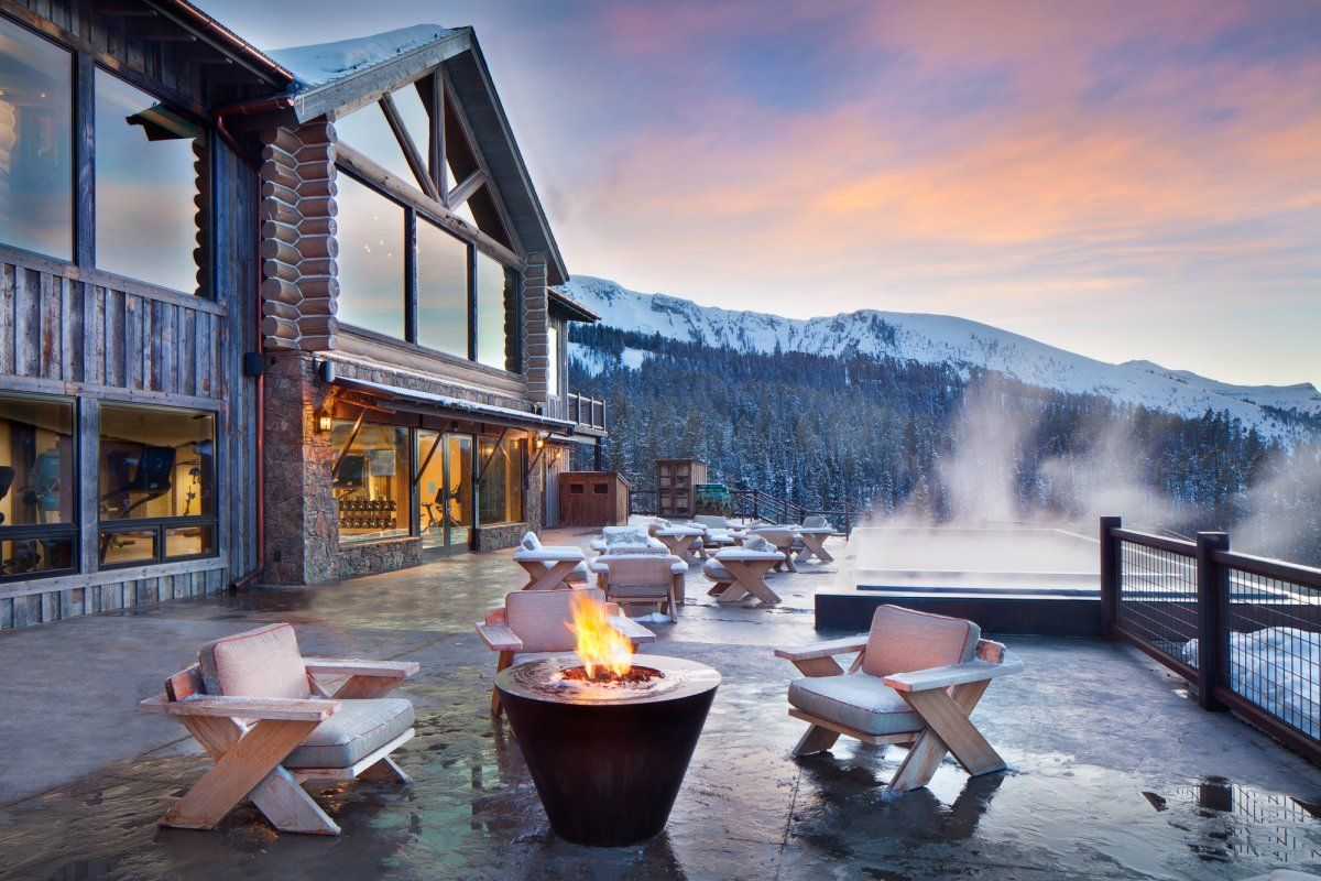 Inside The Swanky Private Club Where Bill Gates Eric Schmidt And Justin Timberlake Go To Ski Yellowstone Club Lodges Architecture