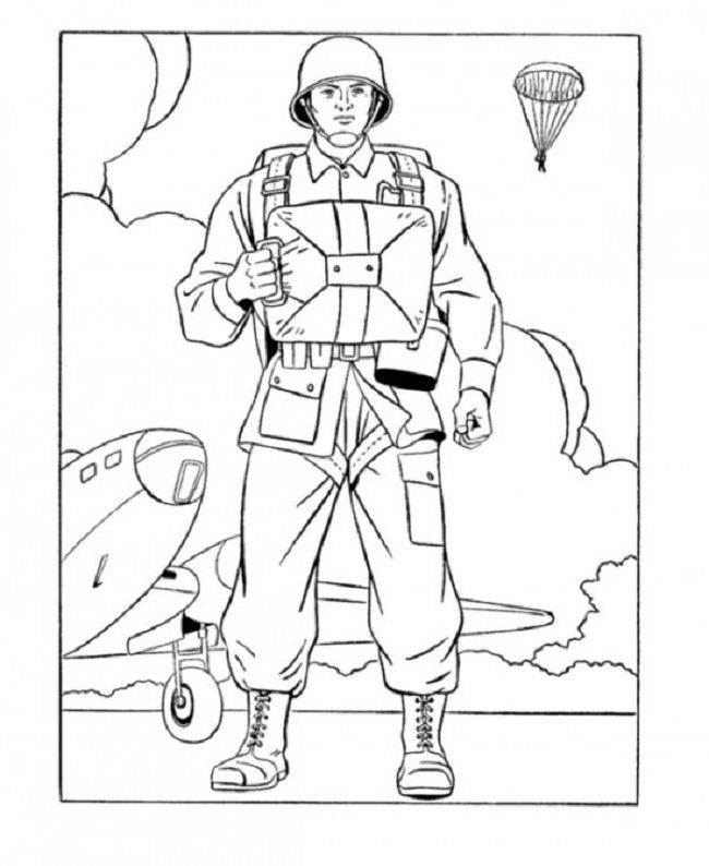 army men and women coloring pages | coloring Pages | Pinterest