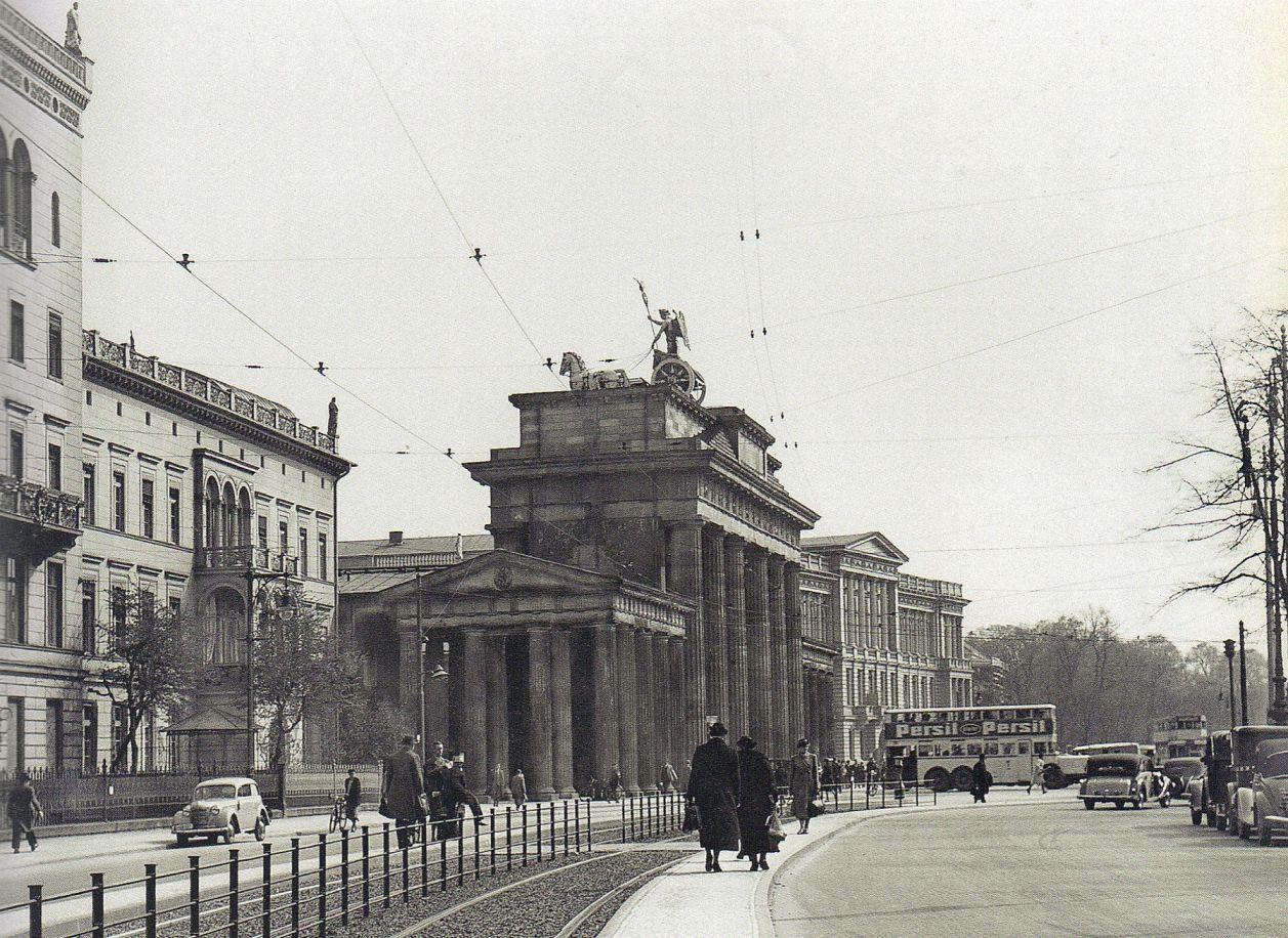 Berlin Brandenburger Tor 1934 Historische Fotos Berlin Brandenburger Tor