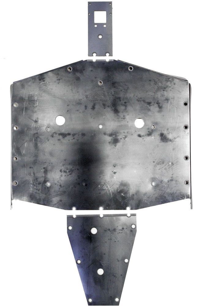 Details About Polaris General Skid Plate Uhmw Sss Off Road